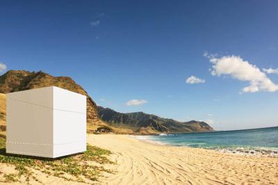 Una casa en la playa...